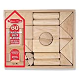 Melissa &amp; Doug 60-Piece Standard Unit Blocks