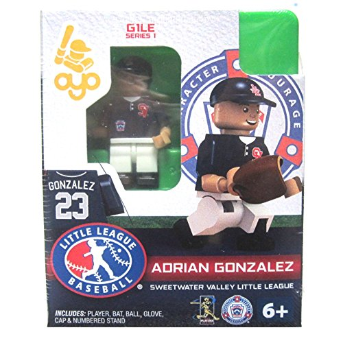 Adrian Gonzalez LLB Sweetwater Valley Little League Oyo G1S1 Minifigure - 1