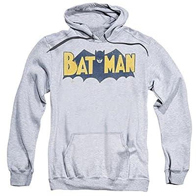DC Batman Vintage BM Logo Pull Over Hoodie