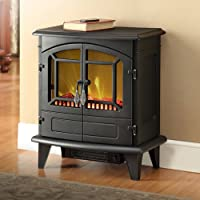 Muskoka MES30BL-3 Phoenix Electric Stove, 400 Square Feet, Black from Muskoka