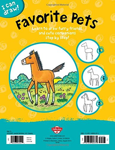 I Can Draw Favorite Pets: Learn to draw furry friends and cute companions step by step!
