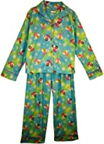 Candlesticks Girls Button-Front Fairy Pajama - 3T
