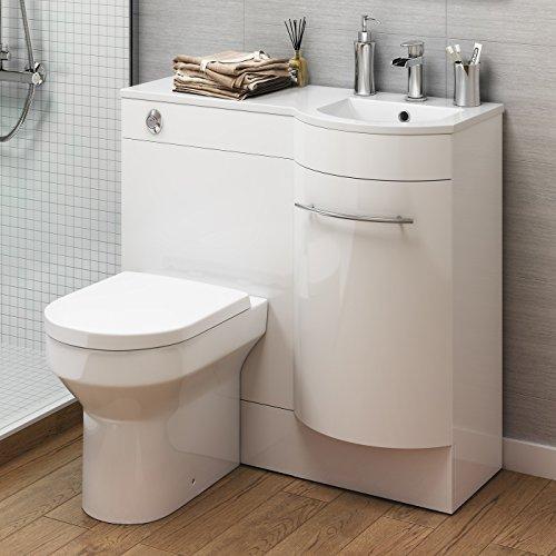 Sensational Deals For 900 Mm White Vanity Unit Countertop Basin Toilet Home Interior And Landscaping Transignezvosmurscom