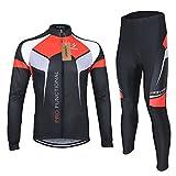 Lixada-Farradkleidung-Sportbekleidung-Set-Fahrrad-Anzug-Langarm-Radtrikot-HoseXXL