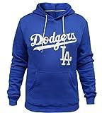 Men's Los Angeles Dodgers Athletic Hoodies Sporty Sweatshirts - Blue