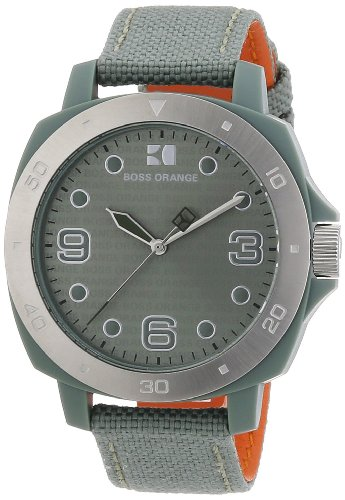 Boss Orange Women's Quartz Watch 1502287 with Textile Strap