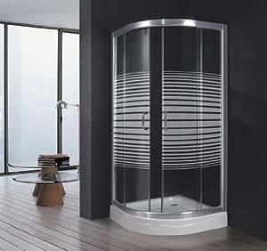 Box doccia cristallo trasp serigr - Box doccia fai da te ...