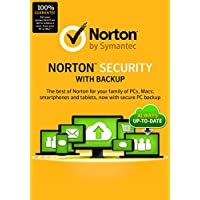 Norton Security with Backup | 10 Devices | PC/Mac/Mobile Download Code