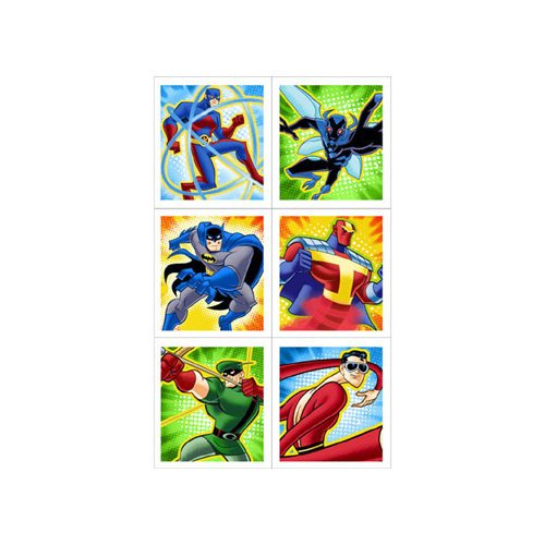 Batman Brave and Bold Sticker Sheets - 1