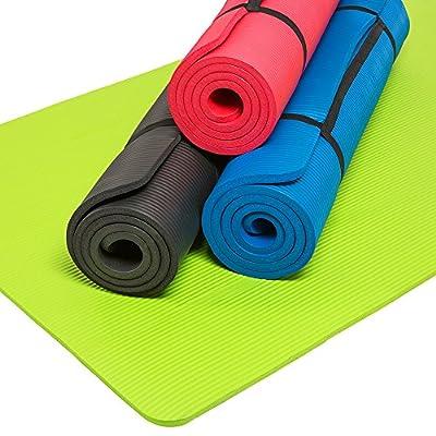 TecTake Yogamatte Gymnastikmatte Boden Fitness Sport Turnmatte Matte -diverse Farben & Größen-