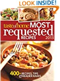 Most Requested Recipes 2013