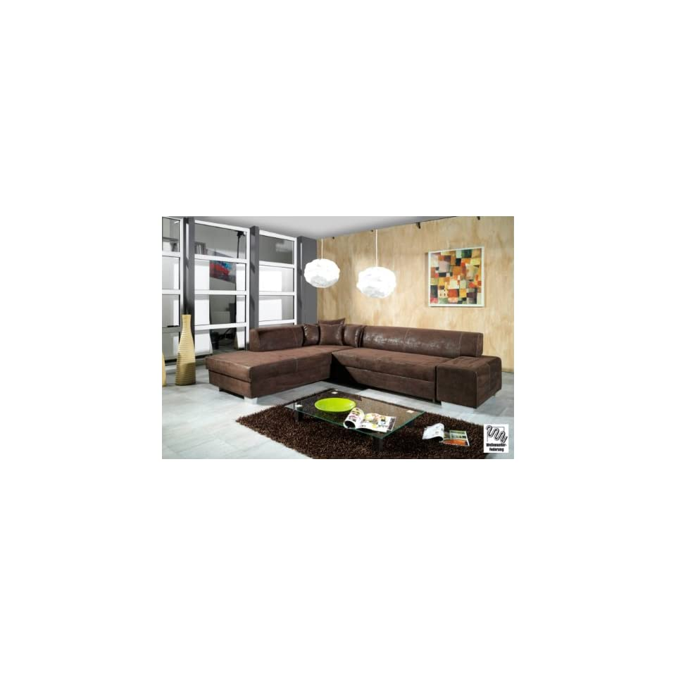sofa mit schlaffunktion garnitur ecksofa eck couch. Black Bedroom Furniture Sets. Home Design Ideas