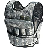 CROSS101- 40Lbs Adjustable Weighted Vest Camouflage Workout Weight Vest Training Fitness-NEW!