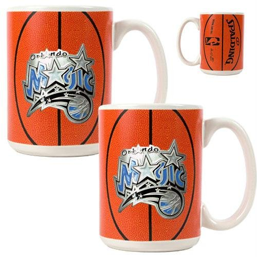 Orlando Magic NBA Ceramic Gameball Mug Set