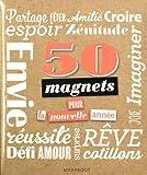 50 magnets pour la nouvelle année !