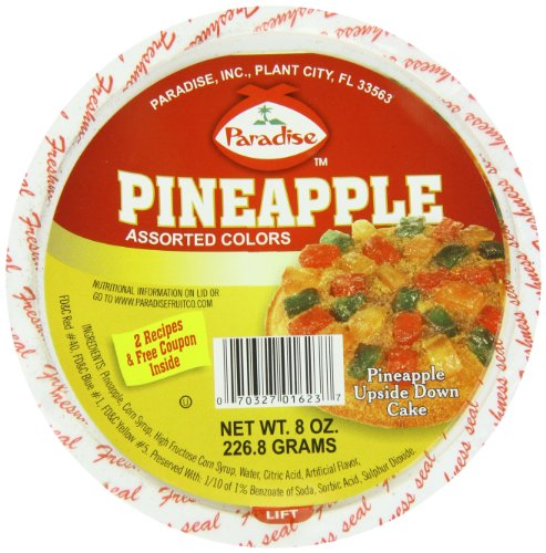 Paradise Pineapple Wedges, Assorted, 8 Ounce