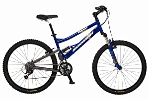 Schwinn Rocket Adult Dual-Suspension Mountain Bike