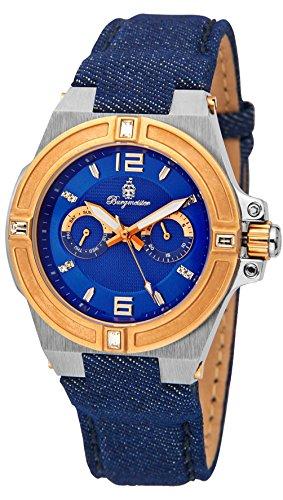 Burgmeister reloj de cuarzo de hombre Denim, BM220-933-1