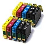10 ink cartridges for Epson stylus sx200, sx215, D120, D78, D92, DX 4000, DX 4050, DX 4400, DX 4450, B40W, BX300F, BX310FN, BX600FW, BX610FW, S20, S21, SX100, SX105, SX110, SX115, SX200, SX205, SX210, SX215, SX218, SX400, SX400w, SX405, SX405w, SX410, SX