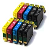 10 compatible ink cartridges for Epson stylus sx200, sx215by The Ink Cartridge King