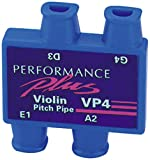 Performance Plus VP4 Violin or Mandolin Pitch Pipe with Clear Carrying Pouch