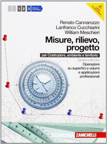 Misure rilievo progetto Con espansione online Per gli Ist tecnici per geometri 3 PDF