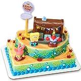 SpongeBob Squarepants - Krusty Krab Signature DecoSet Cake Decoration