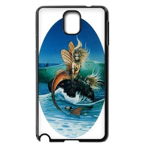 Samsung Galaxy Note 3 N9000 Mermaid Phone Back Case Customized Art Print Design Hard Shell Protection Aq049411