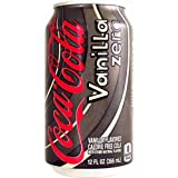 Coca Cola Vanilla Zero 12 FL OZ (355 ml) - 6 Cans