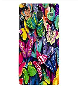 ColourCraft ButterFlies Back Case Cover for XIAOMI REDMI 2S