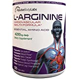 L-Arginine 4200mg per Day. Essential Amino Acid Cardiovascular Health Formula. Supports Circulation, Increases Blood Flow, Supports Nitric Oxide, Protein Synthesis, Reduce Blood Pressure and Leg Cramps. 120 Capsules. Made in USA.