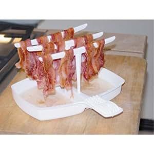 4 x microwave bacon cooker the original for Decor bacon cooker