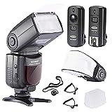 Neewer® PRO NW670 E-TTL Flash Blitz Blitzgerät Set für...