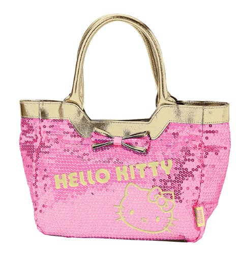 Hello Kitty Handbag: Pink Spangle