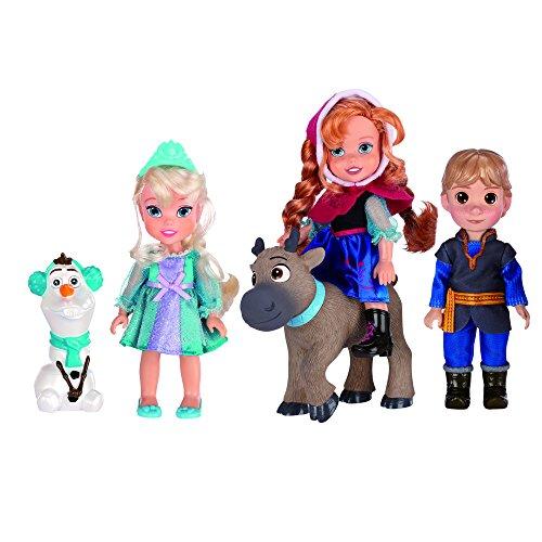 Giochi Preziosi - Frozen Set 5 Mini Bambole, Altezza 15 cm