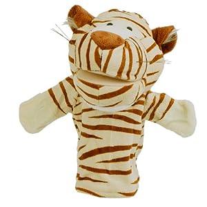 V-SOL Marionetas / Marioneta De Mano Para Bebé - Terciopelo - Tigre por V-SOL