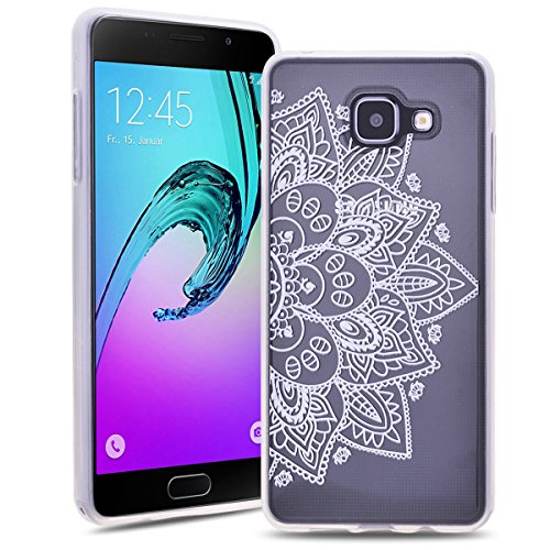 SmartLegend Souple Silicone Coque pour Samsung Galaxy A3 2016 Scrub Skidproof Ultra Thin TPU Hull Etui Mode Extrêmement Mince Légère Flexible Housse
