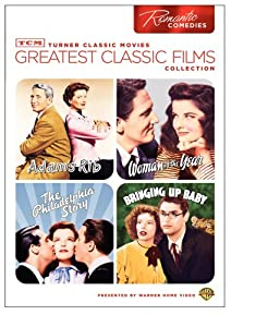 Tcm Greatest Classic Films Collection Romantic Comedies Adams Rib Woman Of The Year The Philadelphia Story Bringing Up Baby by Turner Home Ent