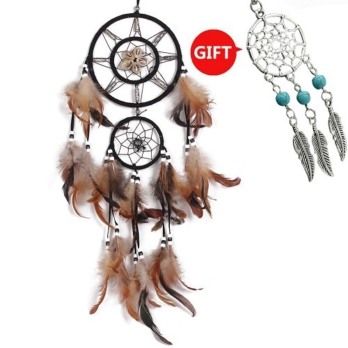 YYAO® Dream Catcher ~ Handmade Traditional Original (shell) 6.5