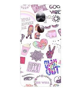 EPICCASE Cool Theme Mobile Back Case Cover For LeEco Le Max2 (Designer Case)