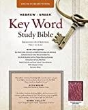 img - for The Hebrew-Greek Key Word Study Bible: ESV Edition, Burgundy Genuine Leather (Key Word Study Bibles) book / textbook / text book
