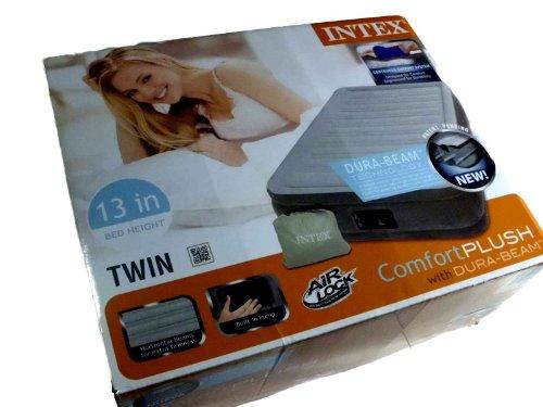 Intex Comfort Plush Dura-Beam Twin Air Bed With Built-In Pump Model # 67765Wl