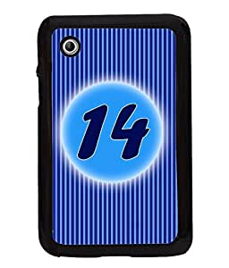 Printvisa 2D Printed Numerology Designer back case cover for Samsung Galaxy Tab 2 7.0 P3100 - D4232