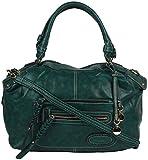OMNESTA Office Women's Handbag (Green, DAZ009GREEN)