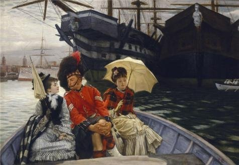 The Perfect Effect Canvas Of Oil Painting 'James Tissot - Portsmouth Dockyard, 1877' ,size: 20x29 Inch / 51x73 Cm ,this Vivid Art Decorative Canvas Prints Is Fit For Kitchen Decor And Home Decor And Gifts (Dirt Evil Vacuum Cleaner compare prices)