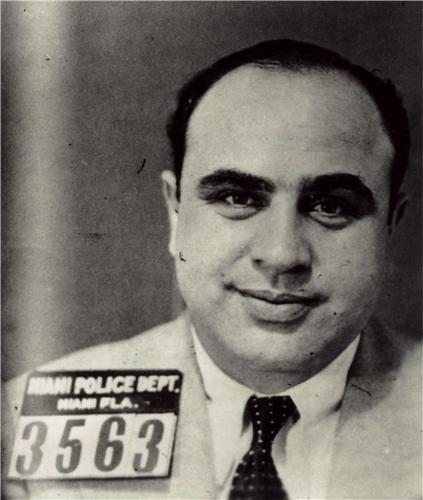 AL CAPONE MUG SHOT PORTRAIT GLOSSY POSTER PICTURE PHOTO gangs chicago mafia (Mafia Pictures compare prices)