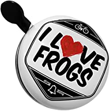 Bicycle Bell I Love Frogs by NEONBLOND