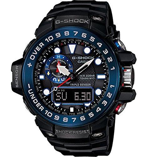 Casio - G -Shock - Gulfmaster - Black/Blue - GWN1000B-1B