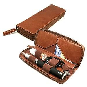 Tuff Luv E Cig Vape Pen Vintage Faux Leather Luxury Travel