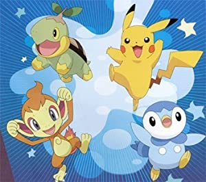Pokemon Diamond Pearl Slumber Sleeping Bag Turtwig, Chimchar, Piplup and Pikachu